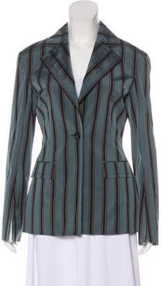 Brock Collection Notch-Lapel Striped Blazer