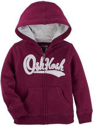 Osh Kosh Oshkosh Bgosh Toddler Boy Logo Zip Hoodie