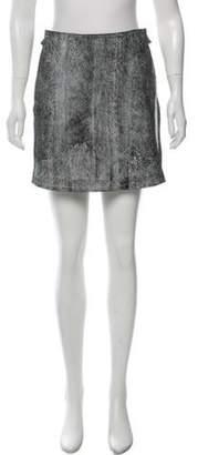 3.1 Phillip Lim Leather Mini Skirt Black Leather Mini Skirt