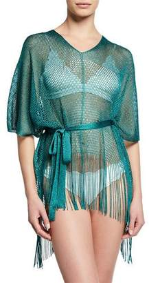 Missoni Fringe Bottom Woven Coverup