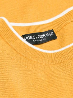 Dolce & Gabbana logo knit jumper