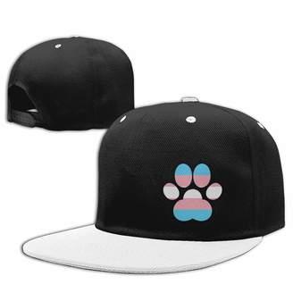cc4c3f61cb5a6 Hi-Q Trans Pride Paw Transgender Pride Unisex Baseball Cap LGBT Trans Pride  Snapback Hat
