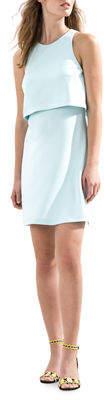 Donna Morgan Sleeveless Popover Dress