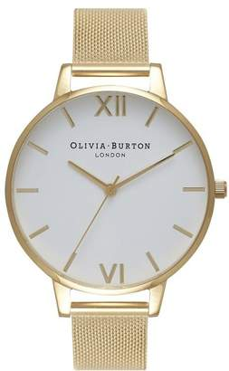Olivia Burton Gold Mesh Watch