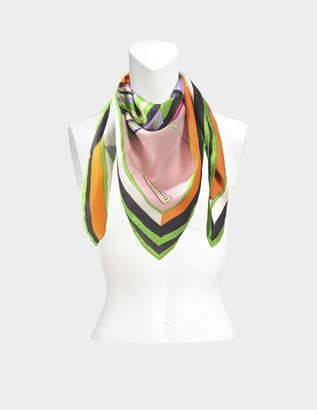 Emilio Pucci Silk square 90x90cm Maya print