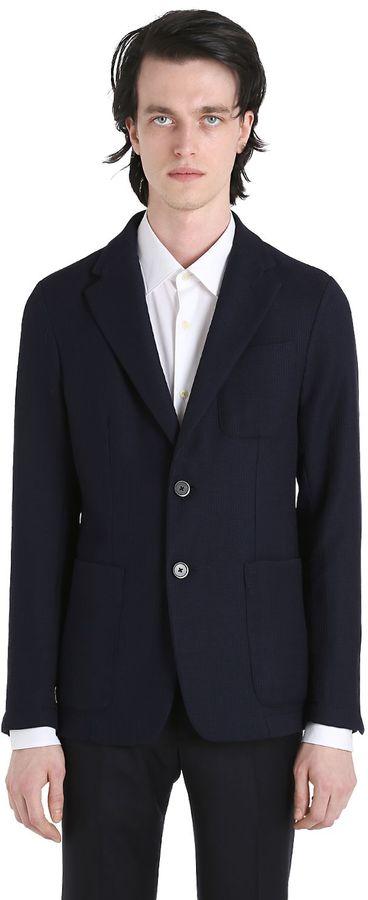 BarenaSavio Ermo Virgin Wool Jacket