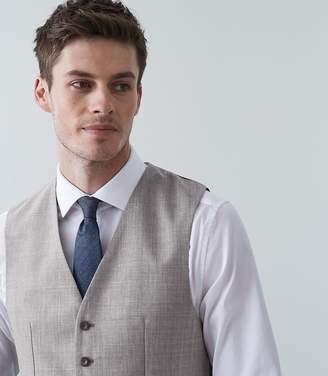 Reiss Serbelloni Modern Fit Waistcoat