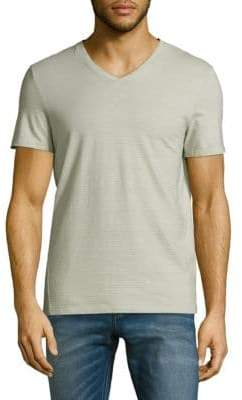 Calvin Klein Cotton Slim-Fit V-Neck T-Shirt