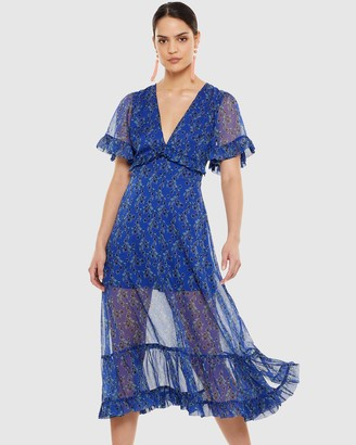 Talulah Morning Light Midi Dress