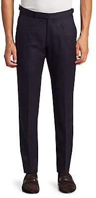 Ermenegildo Zegna Men's Crocas Straight Wool Trousers