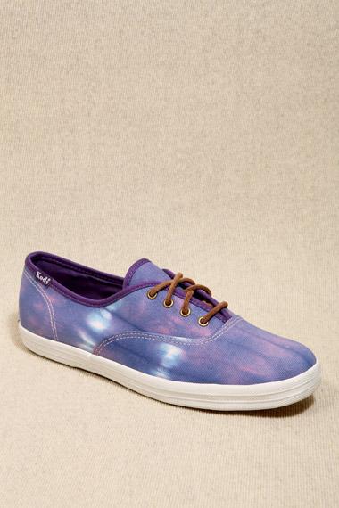 Keds X UO Purple Tie Dye Sneakers