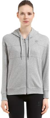 Hooded Zip-Up French Terry Sweatshirt