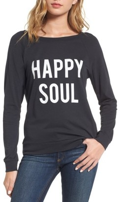Women's South Parade Happy Soul Long Sleeve Tee $84 thestylecure.com