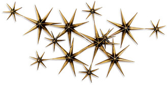 Artisan House C. Jeré Evening Stars - Brass/Steel