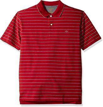 Dockers Men's Performance Polo Short Sleeve with Embroidered Logo
