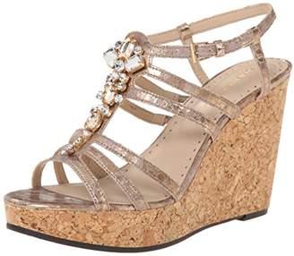 Adrienne Vittadini Footwear Women's Cadenza Wedge Sandal $21.26 thestylecure.com