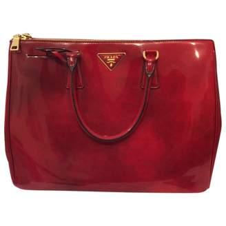 Prada Burgundy Leather Handbag