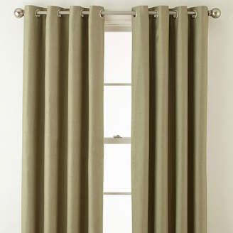 Royal Velvet Supreme Blackout Grommet-Top Curtain Panel