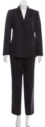 Etro Wool Pinstripe Pantsuit