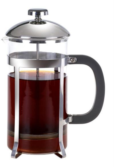 Laroma 8-Cup Glass Coffee Press with Black Handle