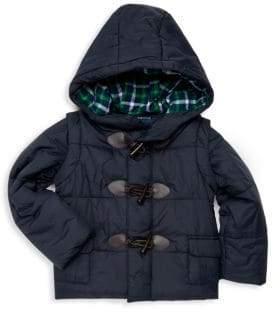 Andy & Evan Little Girl's Convertible Puffer Jacket