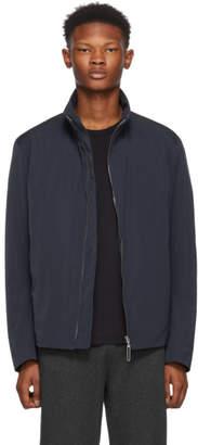 HUGO Navy Bill Zip-Up Jacket