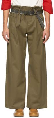 St-Henri SSENSE Exclusive Tan Laurentide Trousers