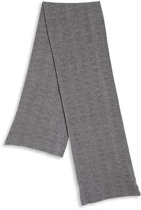 Portolano Men's Knit Wool-Blend Scarf