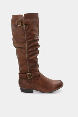 Ardene Faux Leather Knee-High Boots