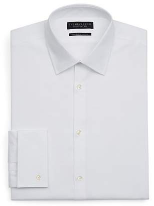 Bloomingdale's The Men's Store at White Textured Dress Shirt - Regular Fit - 100% Exclusive