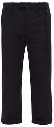 Craig Green Loose Leg Stretch Cotton Twill Trousers - Mens - Black
