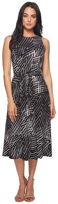 Lauren Ralph Lauren Feliana Kaya Park Stripe Dress Women's Dress