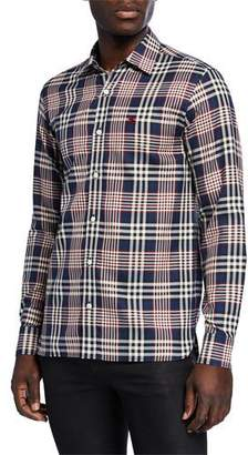 Burberry Men's Long-Sleeve Edward Sport Shirt