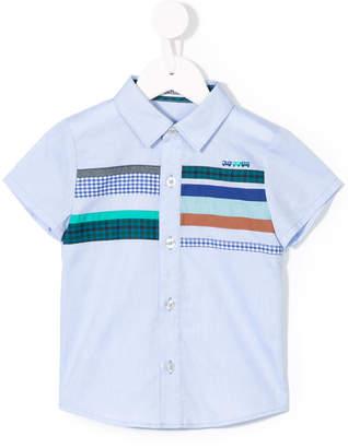 Familiar striped shortsleeved shirt
