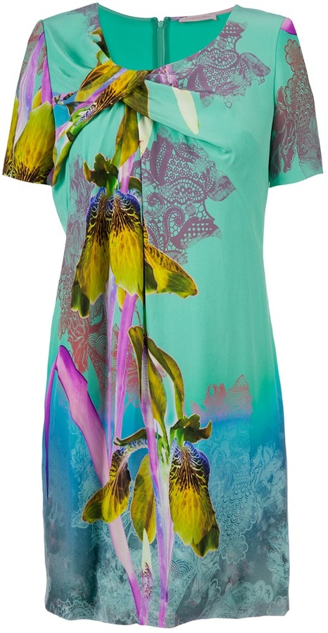 Matthew Williamson tropical print dress