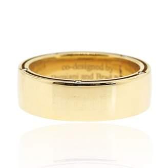 Damiani 18K Yellow Gold Diamond Wedding Band Ring Size 10.25