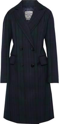 Baum und Pferdgarten Damara Double-breasted Checked Twill Coat