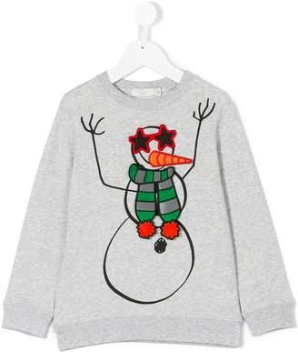 Stella McCartney snowman print sweatshirt