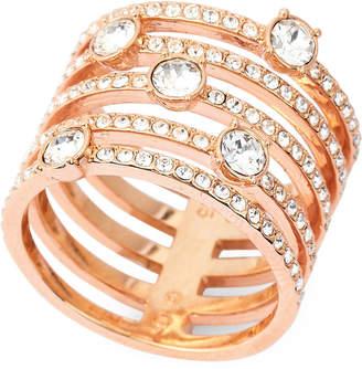 Swarovski Rose Gold-Tone Creativity Wide Ring