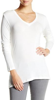 David Lerner Long Sleeve V-Neck Sweater $135 thestylecure.com