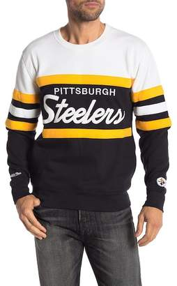 Mitchell & Ness Pittsburgh Steelers Head Coach Crew Neck Sweater
