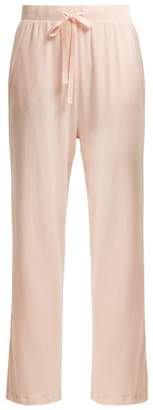 Skin - Amandine Cotton Pyjama Trousers - Womens - Pink