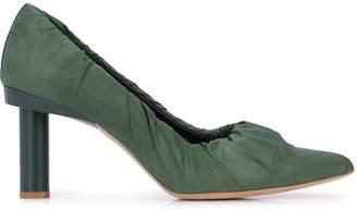 Tibi Cyan mid-heel pumps