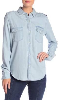 Frame Denim Military Long Sleeve Shirt