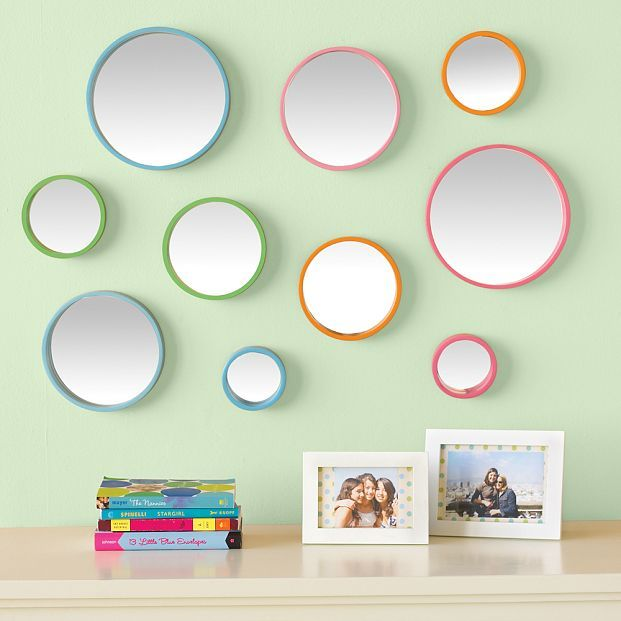 Bubble Dot Mirror Set
