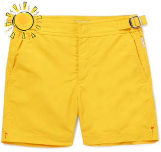 Orlebar Brown Boys Ages 4 - 12 Russell Swim Shorts - Yellow