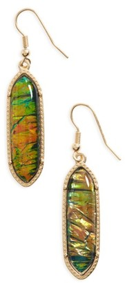 Women's Bp. Stone Oval Drop Earrings $12 thestylecure.com