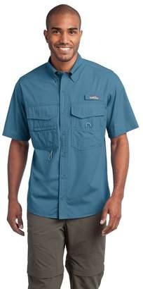 Eddie Bauer Short Sleeve Fishing Shirt, Bluegill 2XL