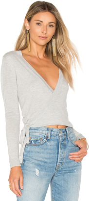 Lovers + Friends Wrap It Sweater $128 thestylecure.com