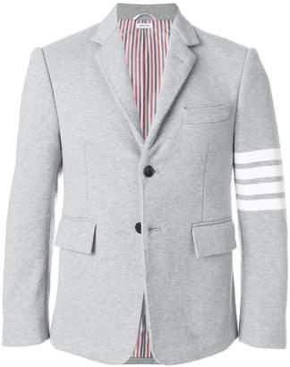 Thom Browne 4-bar stripe classic jersey sport jacket
